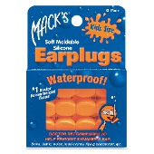 MACKS SWIM EAR PLUGS KIDS SIZE 6PR