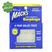 MACKS PILLOW SOFT SILICONE EAR PLUGS VALUE PACK 6 PAIRS