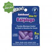 MACKS SLIM FIT EAR PLUGS 5 PAIR