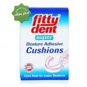 FITTY DENT SUPER DENTURE ADHESIVE CUSHION 15 STRIPS