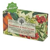 WAVERTREE AND LONDON NATURAL PRODUCTS PERSIMON AND RED CURRANT SOAP 200G