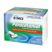Ethics Paracetamol 500mg 100 Tablets