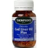 THOMPSONS 098 COD LIVER OIL CAPSULES 100