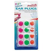 PROTECH EAR PLUGS 106 KIDS SILIC