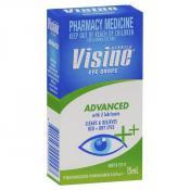Visine Advanced Eye Drops 15ml