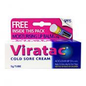 VIRATAC COLD SORE CREAM 5G