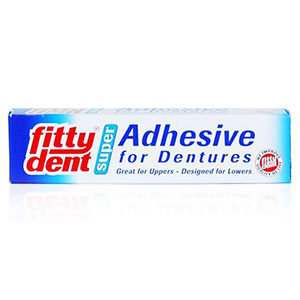 FITTY DENT SUPER DENTURE ADHESIVE 20G
