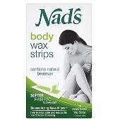 NADS BODY WAX STRIPS FOR 20