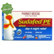 SUDAFED PE SINUS DAY AND NIGHT 24