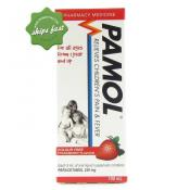 PAMOL ALL AGES COLOUR FREE STRAWBERRY 100ML