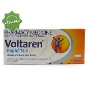 VOLTAREN RAPID TABLETS 12 5MG 10