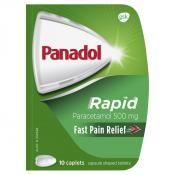 Panadol Rapid Handipak 10 Caplets
