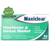 MAXICLEAR HAYFEVER SINUS 30