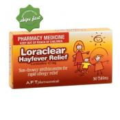 LORACLEAR HAYFEVER TABLETS 10MG 30s
