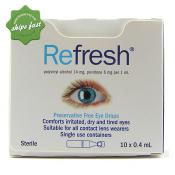 REFRESH EYE DROPS 10 x 0 4ML