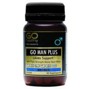 GO HEALTHY GO MAN PLUS 30 VEGECAPS