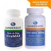 SANDERSON VIRAMAX 60s AND ESTERPLEX VITAMIN C 600MG 55s BUNDLE