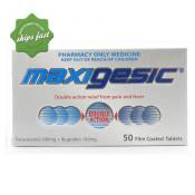 MAXIGESIC PAIN RELIEF 50 TABLETS