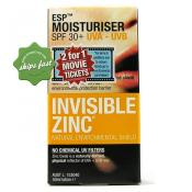 INVISIBLE ZINC ESP MOIST SPF 30 50ML