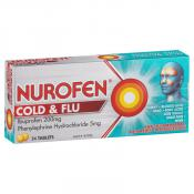 Nurofen PE Cold And Flu 24 Tablets