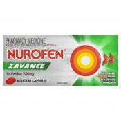 Nurofen Zavance Liquid Capsules 40