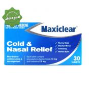 MAXICLEAR COLD NASAL RELIEF 30