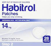 HABITROL PATCH STEP 2 14MG 28