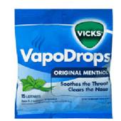 VICKS VAPODROPS ORIGINAL MENTHOL 24