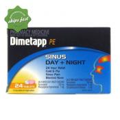 DIMETAPP PE SINUS DAY NIGHT 24