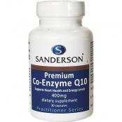 SANDERSON PREMIUM COQ10 400MG 30 CAPSULES