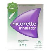 NICORETTE INHALATOR REFILL 20