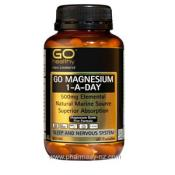 GO HEALTHY MAGNESIUM 1 A DAY 500 MG 60 CAPSULES