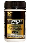 GO Healthy Magnesium 1-A-Day 500mg 120 Capsules