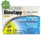 DIMETAPP PE DAY NIGHT COUGH COLD FLU 24