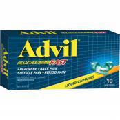 Advil Liquid Capsules 10