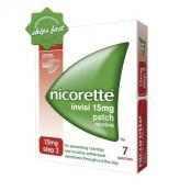 NICORETTE 16HR INVISIPATCH STEP 2 15MG X 7 PATCHES
