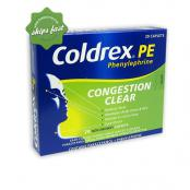 COLDREX PE CONGESTION CLEAR 20