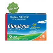 CLARATYNE HAYFEVER AND ALLERGY RELIEF 24 HOUR NON DROWSY 60 TABLETS