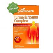 GOOD HEALTH TURMERIC 15800 COMPLEX 30 CAPSULES