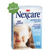 NEXCARE EYE PATCH SENS JNR 14