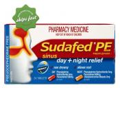 SUDAFED PE NIGHT 24 TABLETS