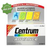 CENTRUM ADVANCE TABS 60