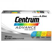 Centrum Advanced 100 Tablets