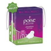 POISE ACTUVE ULTRATHINGS WITH WINGS 14 REGULAR