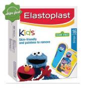 ELASTOPLAST KIDS SESAME STREET 16 STRIPS