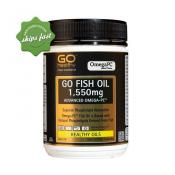 GO HEALTHY GO FISH OIL 1550MG ADVANCED OMEGA-PC 200 SOFTGEL CAPSULES