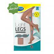 SCHOLL LIGHT LEGS COMPRESSION TIGHTS 20 DENIER NATURAL SMALL