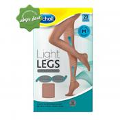 SCHOLL LIGHT LEGS COMPRESSION TIGHTS 20 DENIER NATURAL MEDIUM