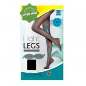 SCHOLL LIGHT LEGS COMPRESSION TIGHTS 20 DENIER BLACK MEDIUM