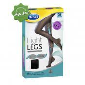 SCHOLL LIGHT LEGS 20 DEN BLACK X LARGE